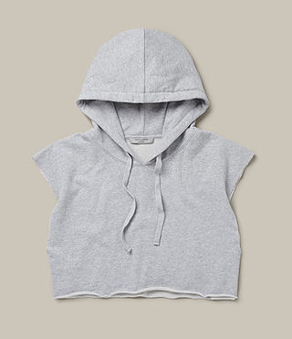 Femmes Sweat sans manches Vivi (Grey Marl) - product_image_alt_text_2