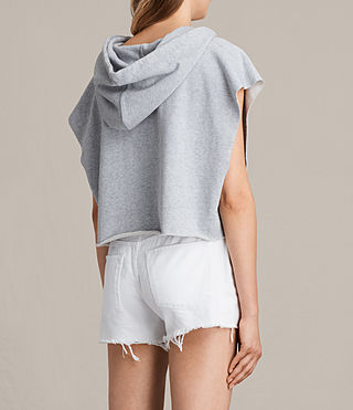 Femmes Sweat sans manches Vivi (Grey Marl) - product_image_alt_text_4