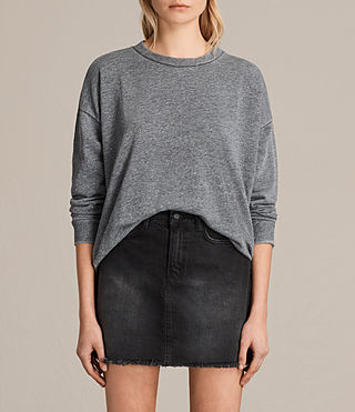 Donne Coni Loop Sweatshirt (Grey Marl) -