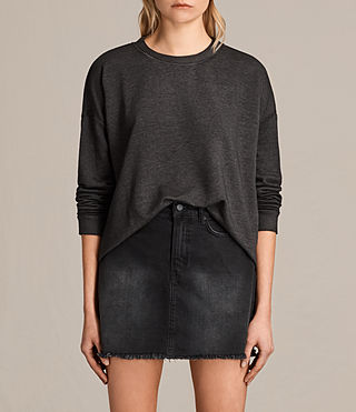 Mujer Coni Loop Sweatshirt (ANTHRACITE GREY)