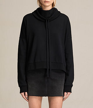 Womens Tubo Sweatshirt (Black)