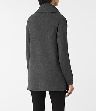 Donne Drape Sweatshirt (MID CHARCOAL GREY) - product_image_alt_text_3