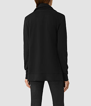 Women's Brooke Sweatshirt (Black) - product_image_alt_text_3