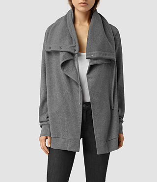 Women's Brooke Sweatshirt (Slate) - product_image_alt_text_1