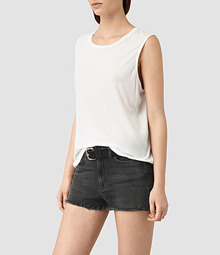 Mujer Top Louis Jay (Chalk White) - product_image_alt_text_2