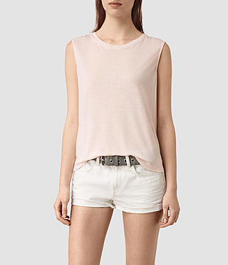 Womens Louis Jay Top (CAMI PINK)