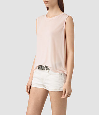 Womens Louis Jay Top (CAMI PINK) - product_image_alt_text_2