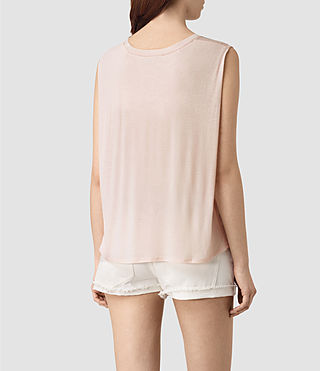 Womens Louis Jay Top (CAMI PINK) - product_image_alt_text_3