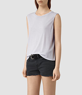 Womens Louis Jay Top (CRYSTAL BLUE) - product_image_alt_text_2