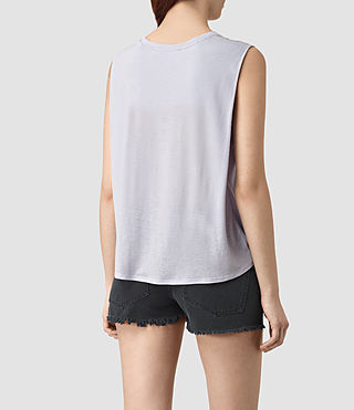 Womens Louis Jay Top (CRYSTAL BLUE) - product_image_alt_text_3