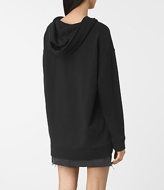 Donne Nia Knit Hoody (Black) - product_image_alt_text_4