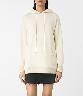 Womens Nia Knit Hoody (Natural) - product_image_alt_text_1