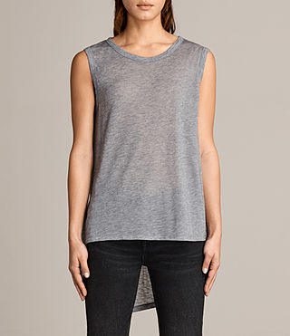 Women's Zita Tank (Grey Marl) -