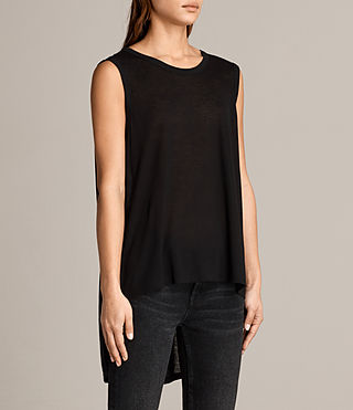 Mujer Zita Tank (Black) - product_image_alt_text_2