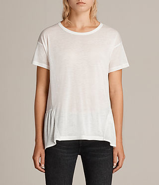Damen Zita T-Shirt (Chalk White) - Image 1