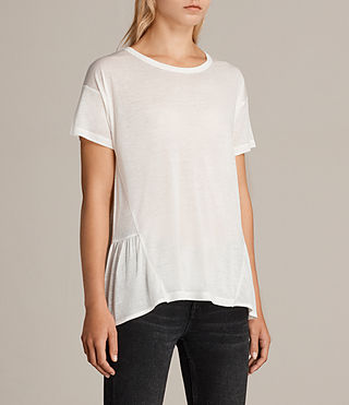 Damen Zita T-Shirt (Chalk White) - Image 2