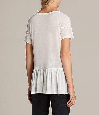 Damen Zita T-Shirt (Chalk White) - Image 3