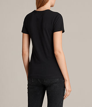 Donne T-shirt Dani (Black) - product_image_alt_text_3