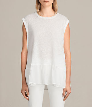 Women's Jody Top (Chalk White) - Image 1
