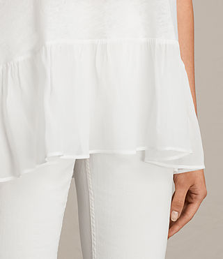 Women's Jody Top (Chalk White) - Image 2