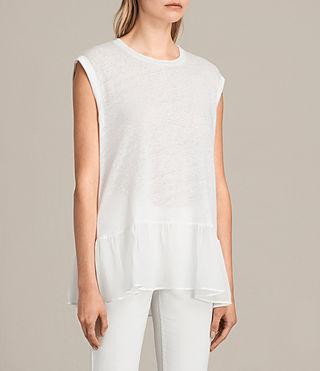 Donne Top Jody (Chalk White) - Image 3