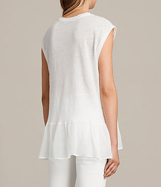 Women's Jody Top (Chalk White) - Image 4