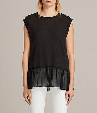 Womens Jody Top (Black) - product_image_alt_text_1