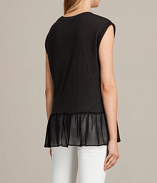 Womens Jody Top (Black) - product_image_alt_text_4