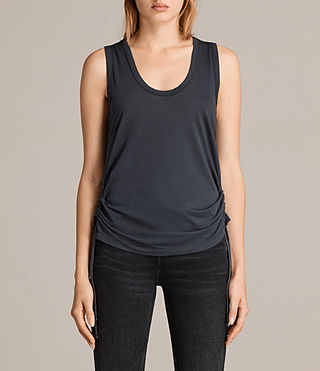 Mujer Camiseta Molly Devo (Washed Black) - product_image_alt_text_1