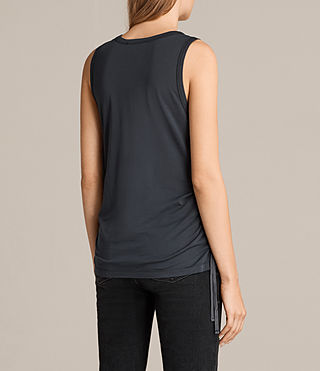 Mujer Camiseta Molly Devo (Washed Black) - product_image_alt_text_4