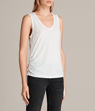 Women's Molly Devo Tank Top (SMOG WHITE) - Image 3
