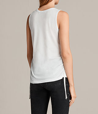 Women's Molly Devo Tank Top (SMOG WHITE) - Image 4