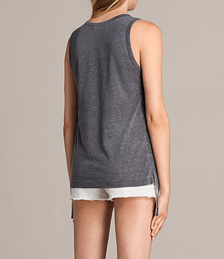 Women's Molly Devo Tank Top (COAL GREY) - product_image_alt_text_5
