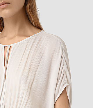 Womens Nevis Top (OYSTER WHITE) - product_image_alt_text_2