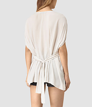 Mujer Nevis Top (OYSTER WHITE) - product_image_alt_text_4
