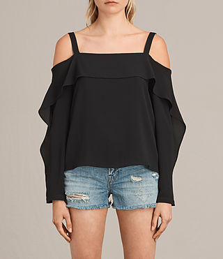 Mujer Top Khan (Black) - product_image_alt_text_1