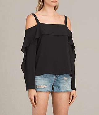 Mujer Top Khan (Black) - product_image_alt_text_3