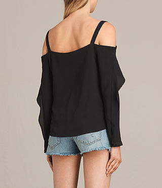 Mujer Top Khan (Black) - product_image_alt_text_4