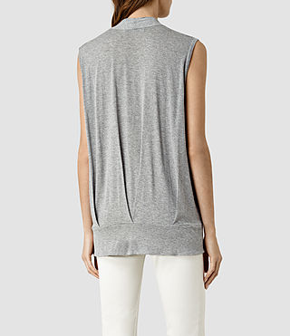 Women's Glo Top (Mist Grey Marl) - product_image_alt_text_3