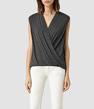 Damen Glo Top (ANTHRACITE GREY)