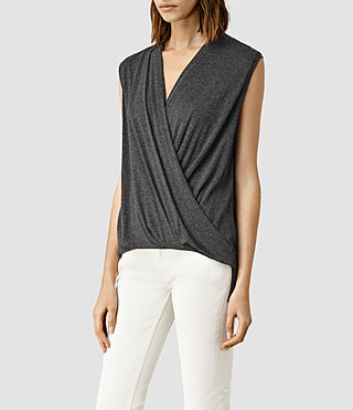 Womens Glo Top (ANTHRACITE GREY) - product_image_alt_text_2
