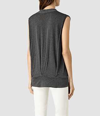 Womens Glo Top (ANTHRACITE GREY) - product_image_alt_text_3
