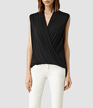 Mujer Top Glo (Black)