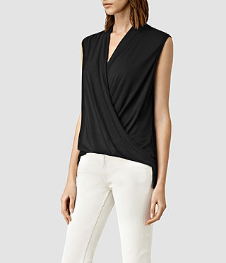Mujer Top Glo (Black) - product_image_alt_text_2