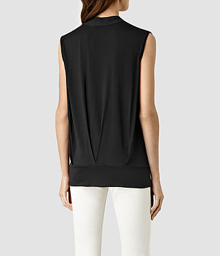 Mujer Top Glo (Black) - product_image_alt_text_3