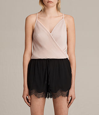Women's May Top (NUDE PINK) -