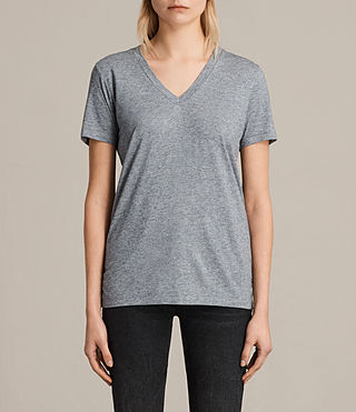 Mujer Ria Tee (PEPPER BLACK) - product_image_alt_text_1