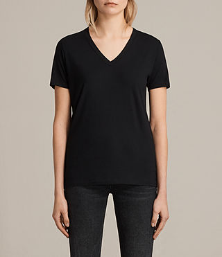 Womens Ria Tee (Black) - product_image_alt_text_1