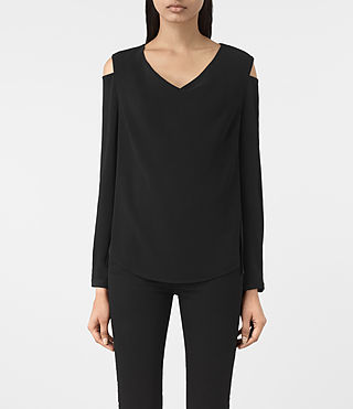 Womens Lia Top (Black)
