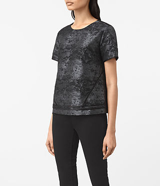 Mujer Jiro Top (Black) - product_image_alt_text_2
